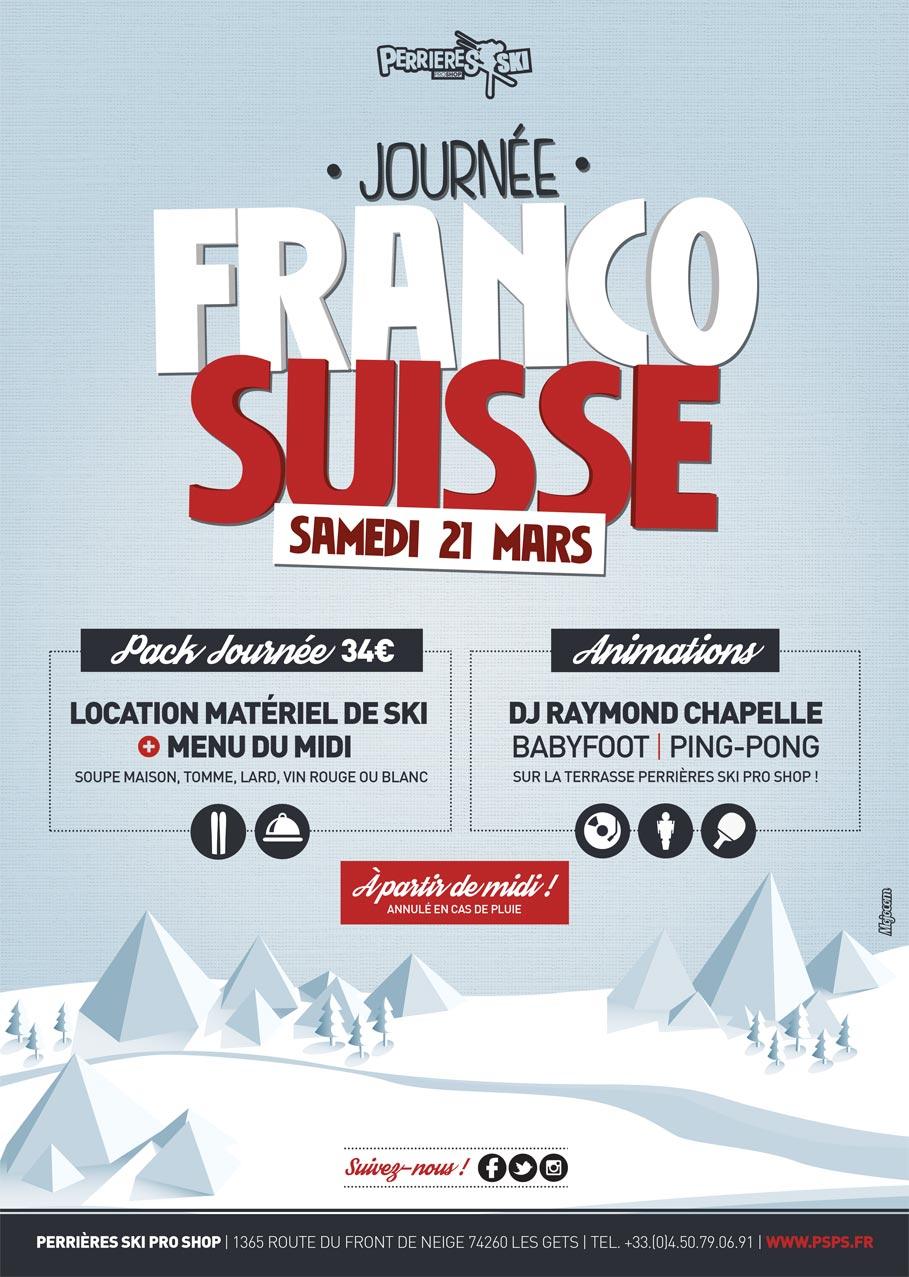 Affiche journée Franco-Suisse
